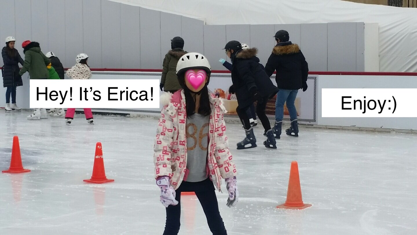 A picture of Erica.